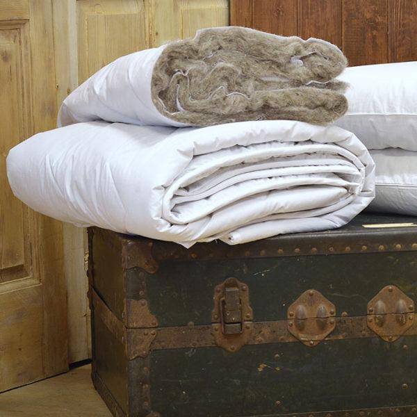 alpaca wool duvet