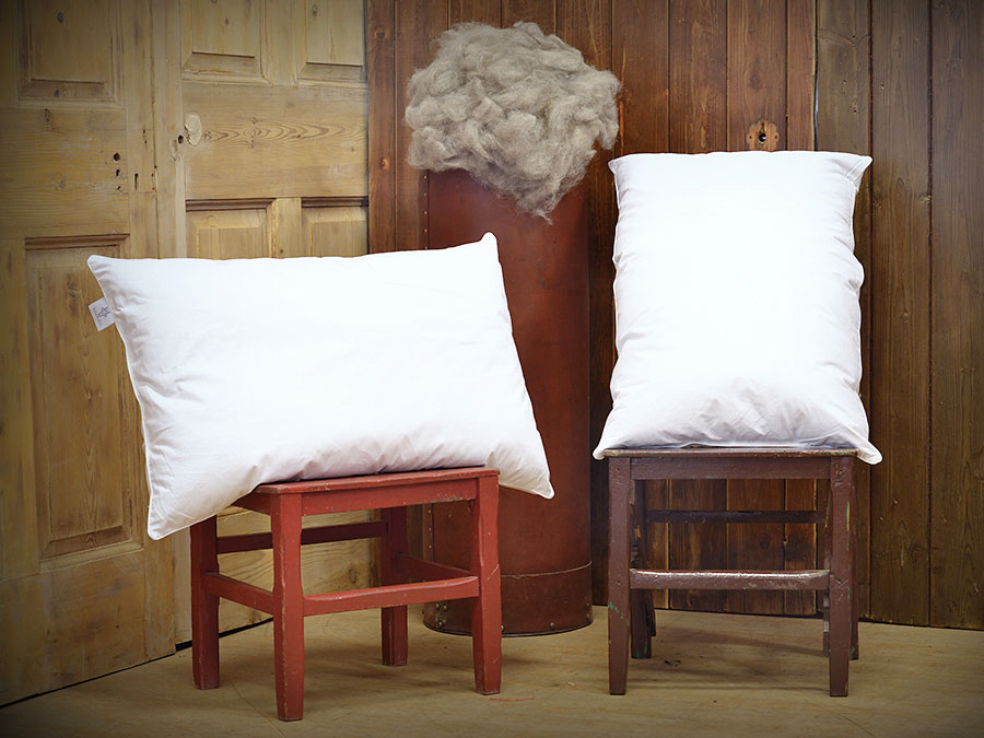 alpaca wool pillow